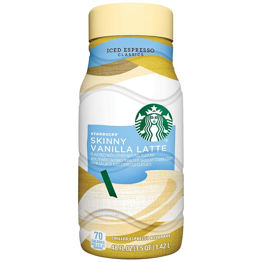 Starbucks Skinny Vanilla Latte Iced Espresso Drink 48 Fl