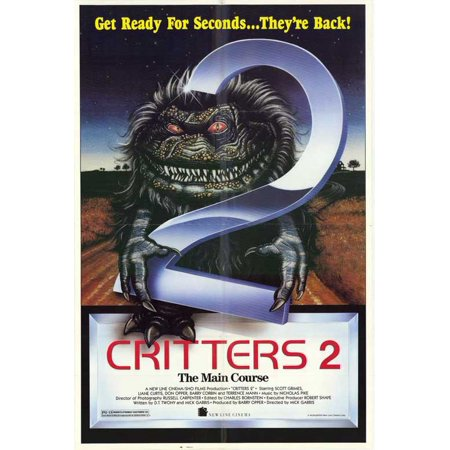 Critters 2 Main Course POSTER (27x40) (1988) ()