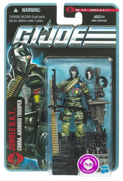GI Joe Pursuit of Cobra Jungle BAT Action Figure by