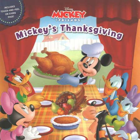 Mickeys Thanksgiving (Board Book) (Betty Boop Thanksgiving)