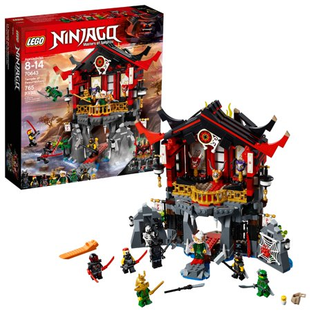 LEGO Ninjago Temple of Resurrection - Ninjago Toy Weapons