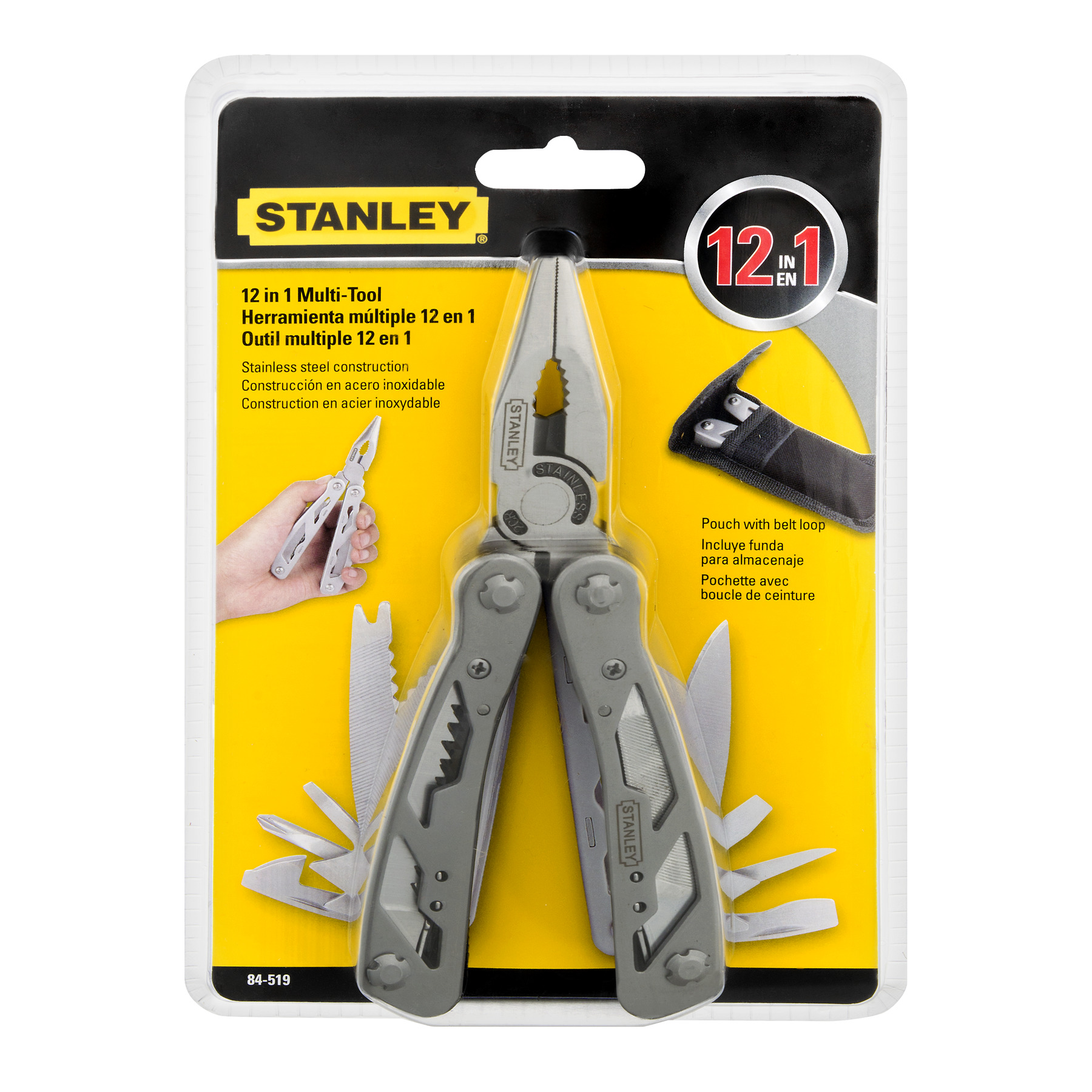 Stanley 12 In 1 Multi - Tool, 1.0 CT