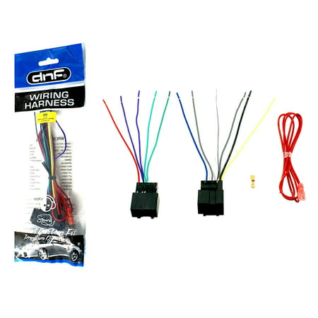dnf aftermarket wiring harness sterero adapter for select chevy + impala  vehicles (70-2105) - 100% copper wires! - walmart com