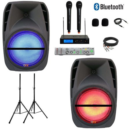 NEW MOBILE TAILGATE IPAD/ANDROID/IOS/PC/LAPTOP KARAOKE SYSTEM 3000 WATTS