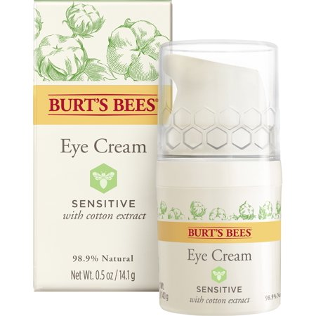 Burt's Bees Eye Cream for Sensitive Skin, 0.5