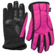 Isotoner Smart Touch Women Pink Matrix Tech Glove Smartouch Thermaflex