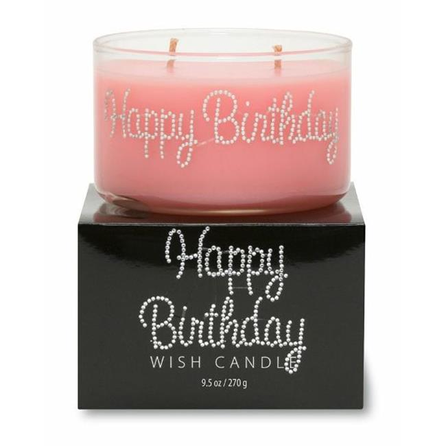 Primal Elements WCHB-US Happy Birthday Wish Candle