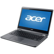 "Refurbished Acer Black 14"" Aspire R3-471T-55F0 Laptop PC with Intel Core i5-5200U Processor, 6GB Memory, touch screen, 1TB Hard Drive and Windows 10 Home"