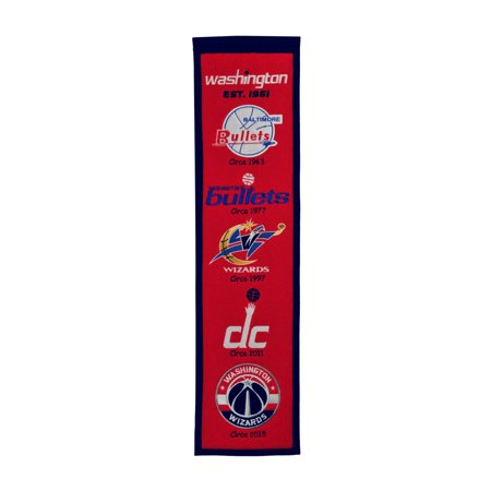Winning Streak - NBA Heritage Banner, Washington Wizards