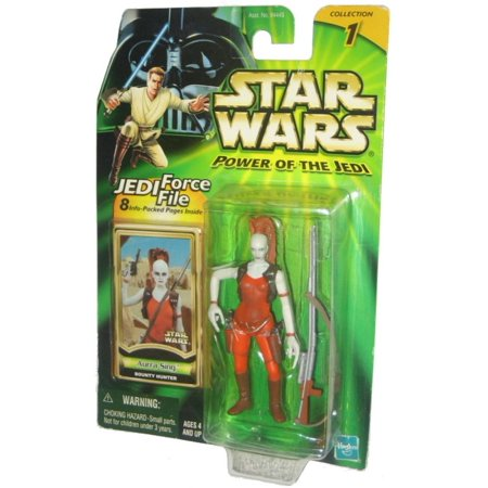 Star Wars Power of The Jedi (2000) Aurra Sing Bounty Hunter
