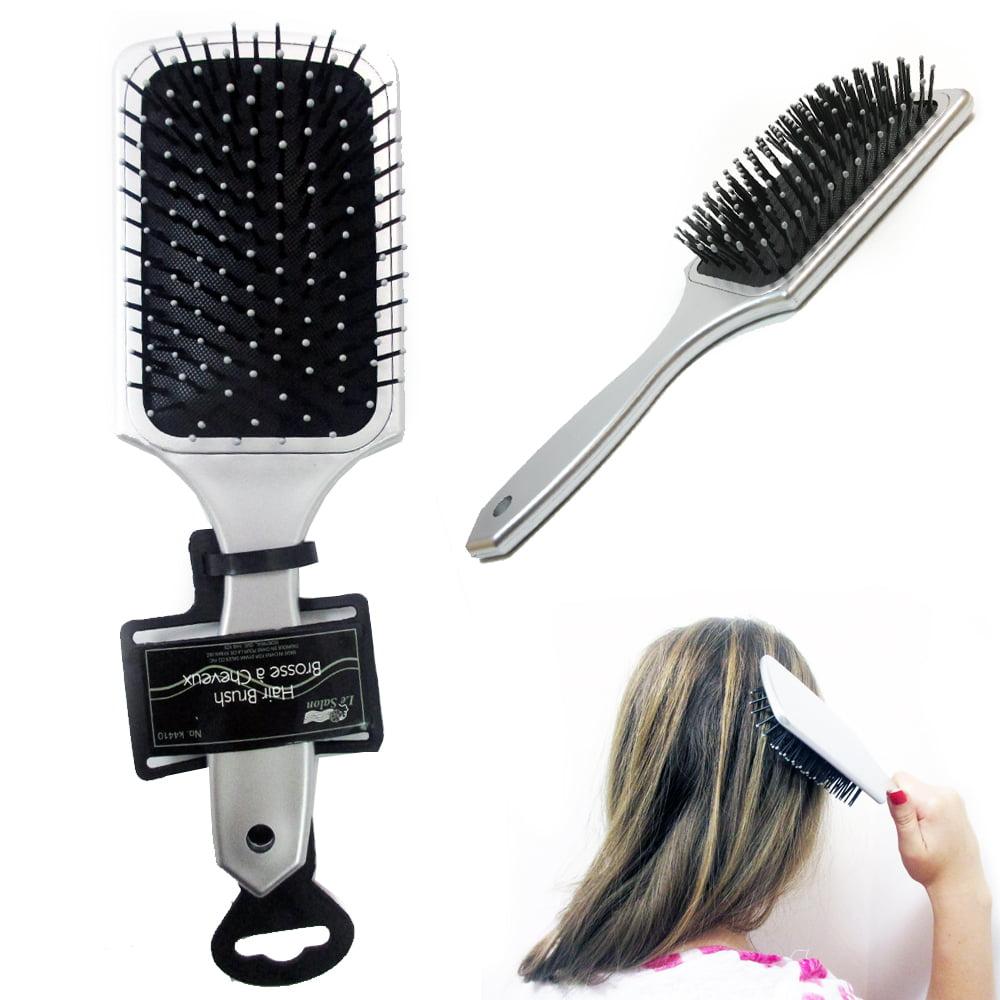 Tangle Detangling Brush Wet Dry Hair Gentle Bristles Shower Salon