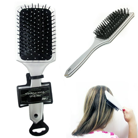 Tangle Detangling Brush Wet Dry Hair Gentle Bristles Shower Salon Women Men