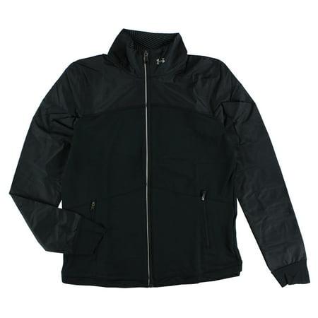 Under Armour Womens No Breaks ColdGear Infrared Jacket Black