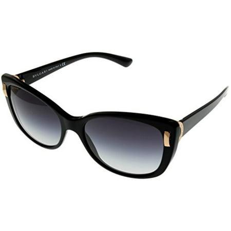 Bvlgari Sunglasses Womens Black Cat Eye BV8170 501/8G Size: Lens/ Bridge/ Temple: 57_17_135_47.4