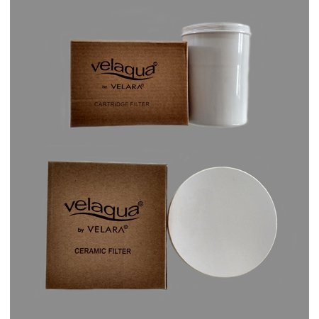 Velaqua Filter Set Cartridge and Ceramic filters ()