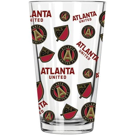 Atlanta United FC 16oz. Full Wrap Pint Glass - No (Glasses Company)