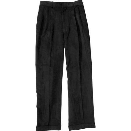 5e4dff7333d George - Men s Cuffed Pleat-Front Corduroy Pants - Walmart.com