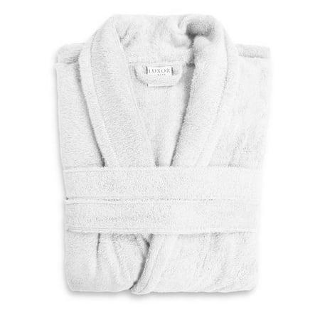 a41dc1cbd6 Luxor Linens - Luxor Linens Anini Rayon from Bamboo and Cotton Spa Bath Robe  - Walmart.com