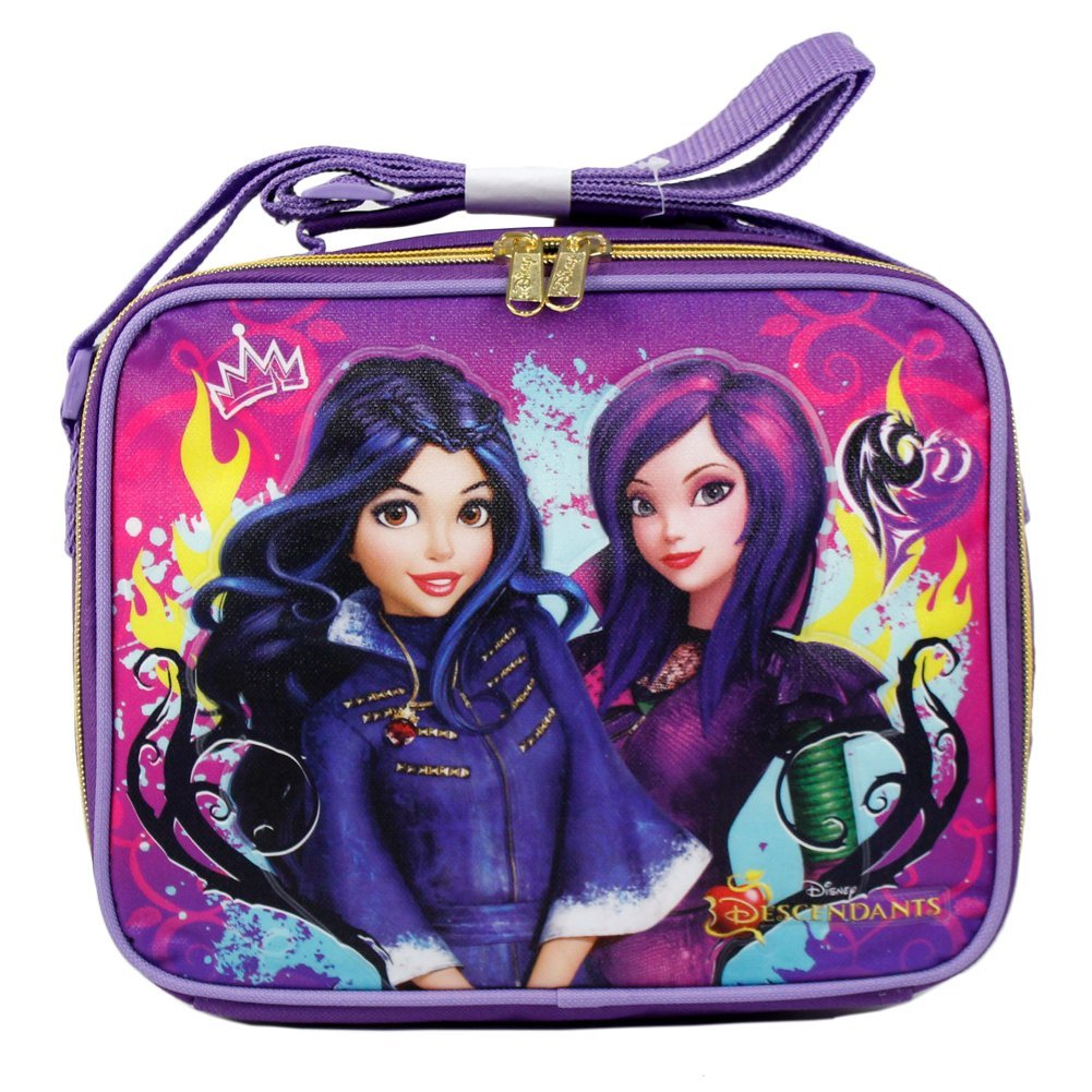 Lunch Bag - Disney - Descendants Cartoon Evie and Mal New 658649