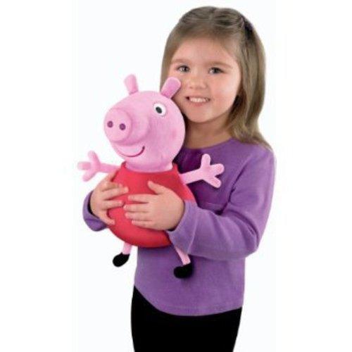 Fisher-Price Peppa Pig Hug 'n Oink Peppa Talking Plush