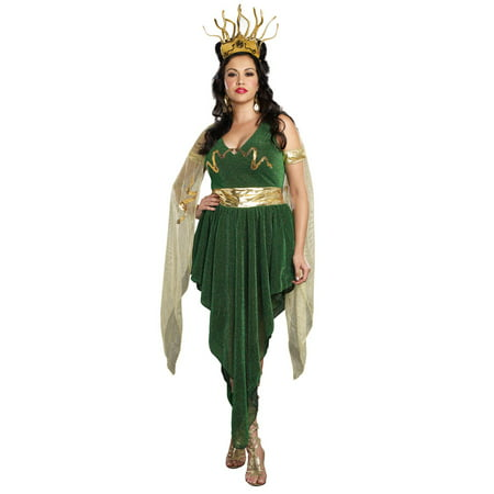 Medusa Plus Size Costume (Plus Size Medusa Long Gown)