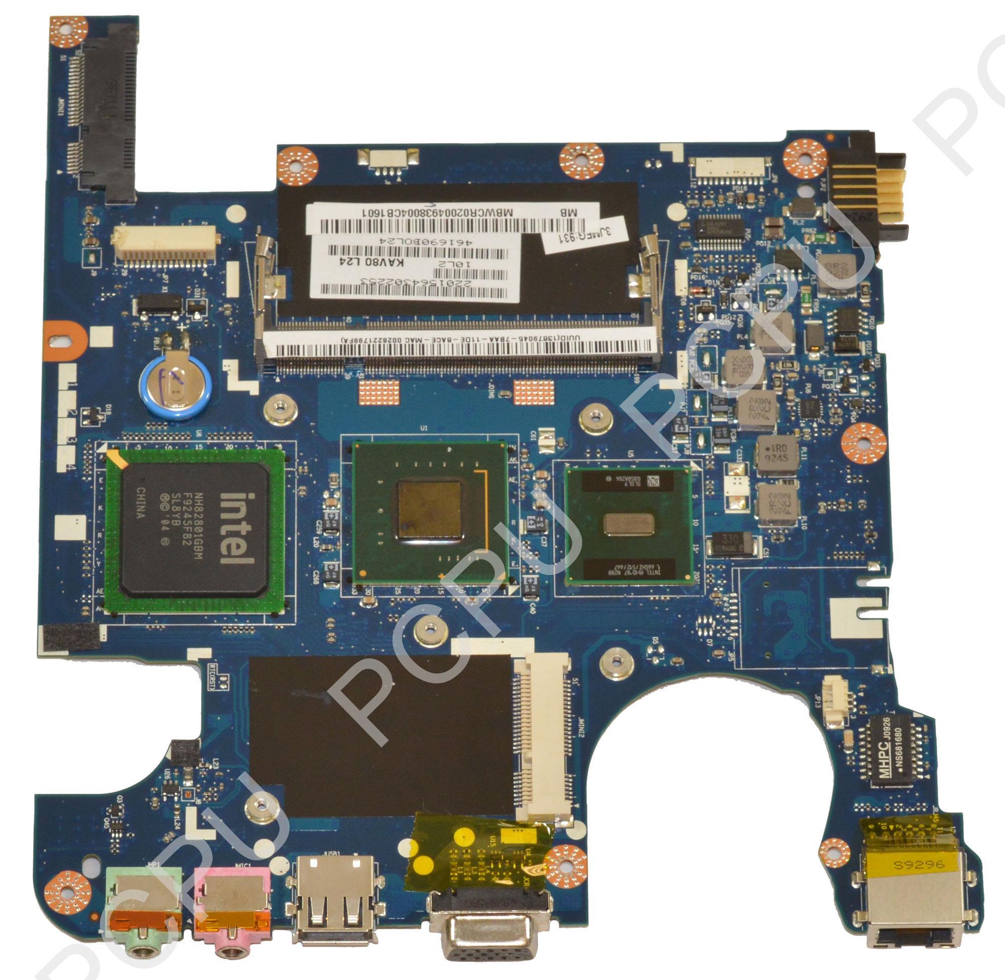 MB.WCR02.004 Gateway LT20 Netbook Motherboard w/ Intel N2...