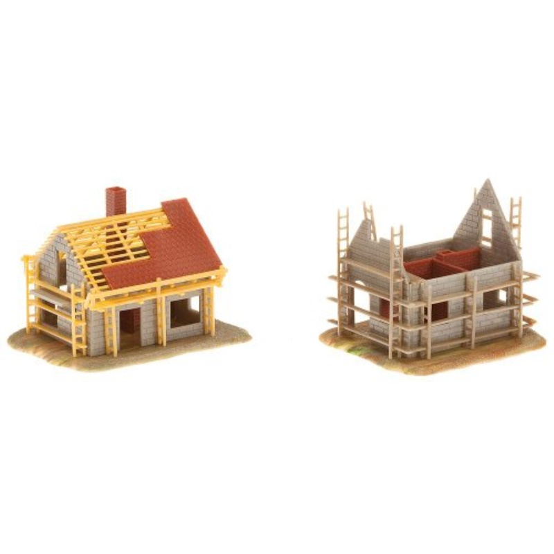 Faller 232223 2homes Under Construction N Scale Building