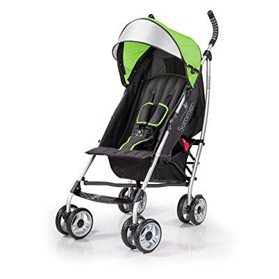 Summer Infant Products 3dlite convenience stroller, green