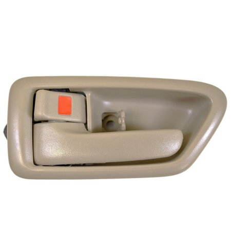 Interior Inside Door Handle Front (Rear) Left Driver Side for Toyota Camry 1997 1998 1999 2000 2001 Beige ()