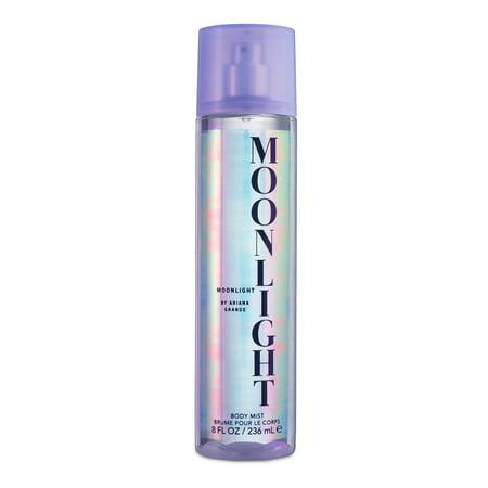 Ariana Grande Moonlight Fragrance Body Mist for Women, 8.0 fl oz - Ariana Grande Cat Ears Halloween