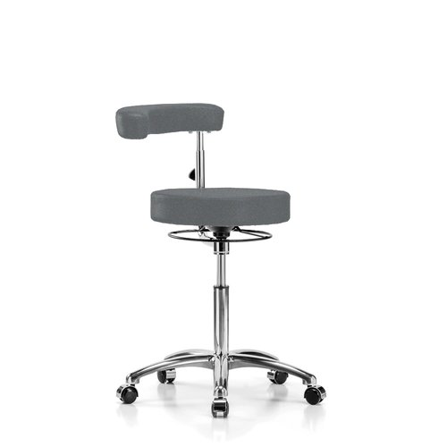 Perch Chairs & Stools Height Adjustable Dental Stool with Procedure Arm by