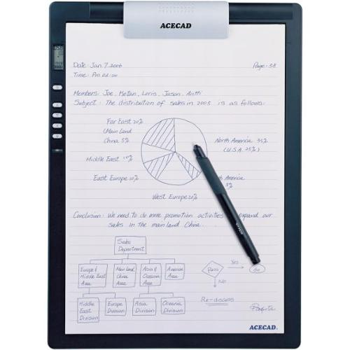 "Solidtek Acecad DigiMemo L2 8.5"" x 11"" Digital Notepad for PC & Mac DM-L2"