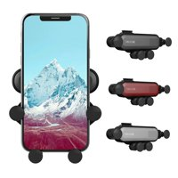 Fysho Car Mount, New Universal Air Vent Gravity Car Mount Phone Holder For iPhone Xs Max XR X 8 7 Plus 6s 6 SE, Galaxy S10 S9 S8 S7 S6 S5 Note 8 Google, LG, Huawei and More