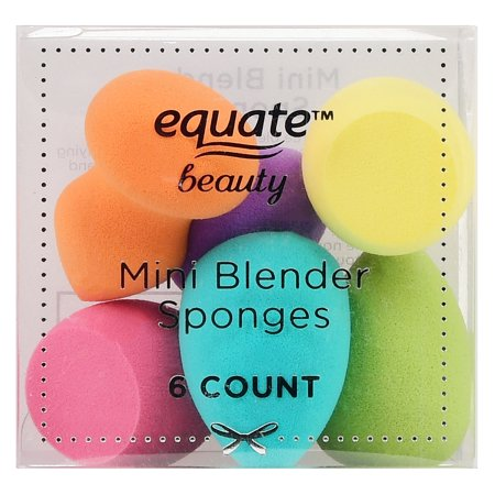 Equate Beauty Mini Blender Sponges, 6 Count (Teardrop Beauty Blender Sponge)