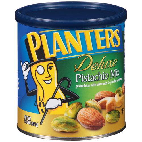 Planters Deluxe Pistachio Mix, 14.5 oz