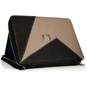 "LENCCA Minky Premium Leatherette Universal Tablet Portfolio Case for 9"", 10""or 10.1"" Tablets"