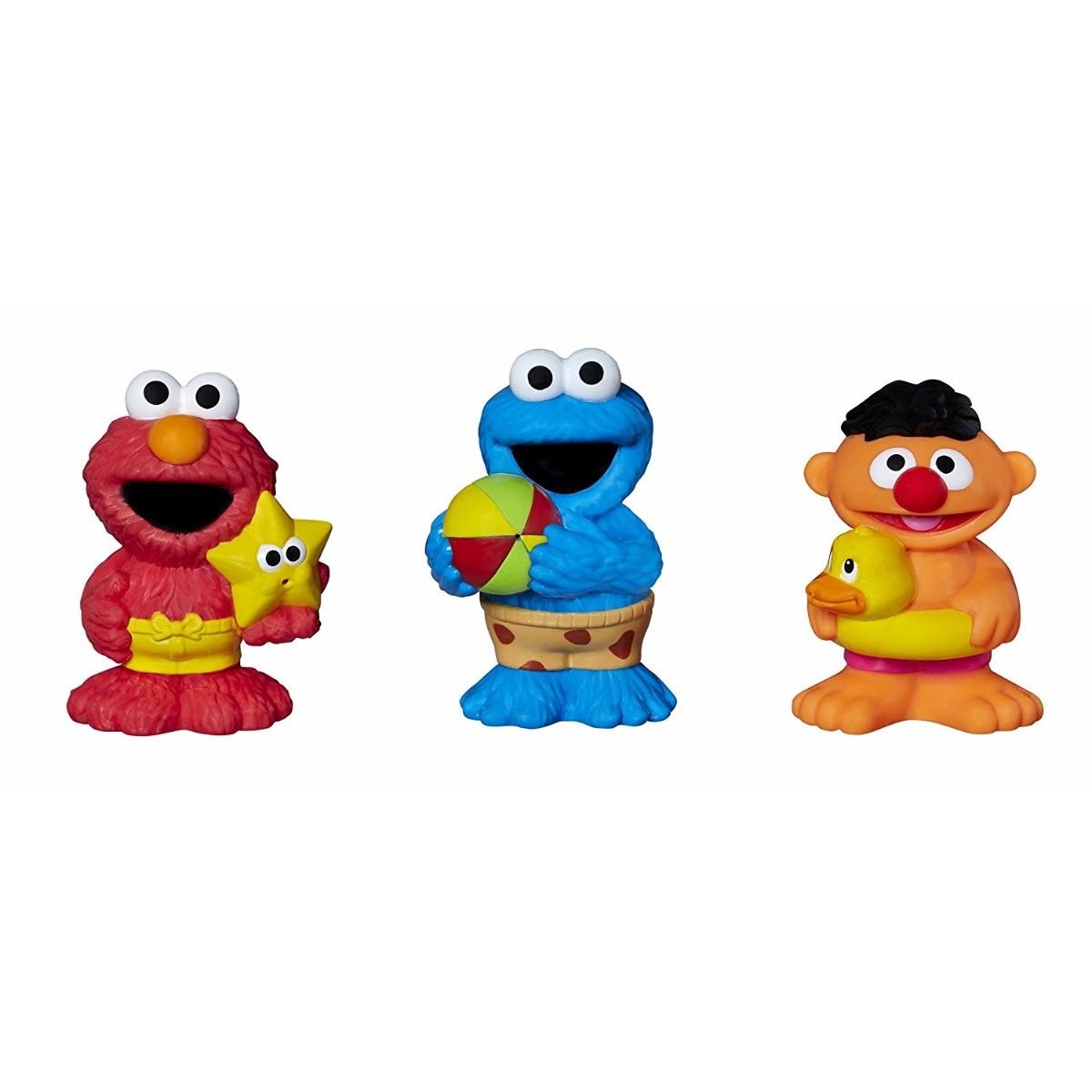 Sesame Street 3 Pack Bath Squirters