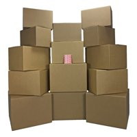 ValueSupplies Moving Kit #2 - 14 Boxes and Labels