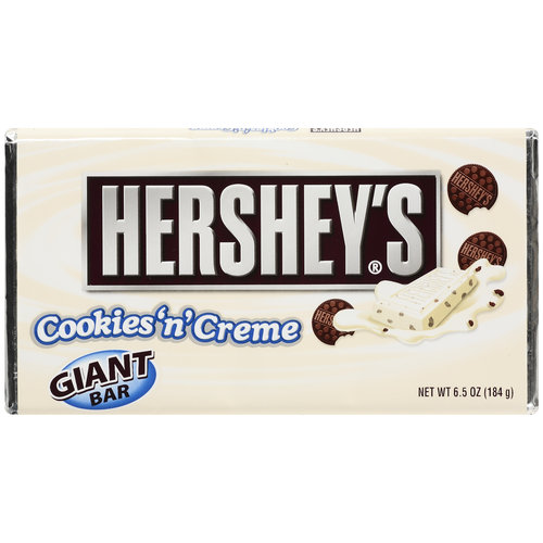 Hershey's® Giant Cookies 'n' Creme Candy Bar 6.5 oz. Wrapper