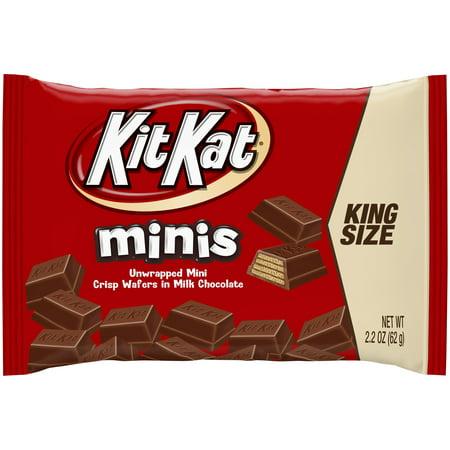 Kit Kat King Size Minis Crisp Wafers in Milk Chocolate 2.2 oz ...