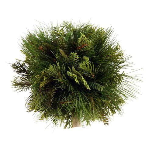 Distinctive Designs Artificial Mixed Pine Ball with Cedar (Set of 2)