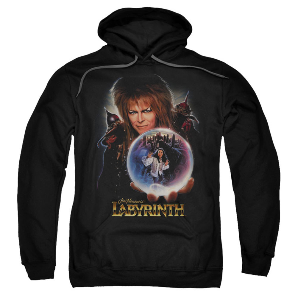 Labyrinth Men's  I Have A Gift Hooded Sweatshirt Black