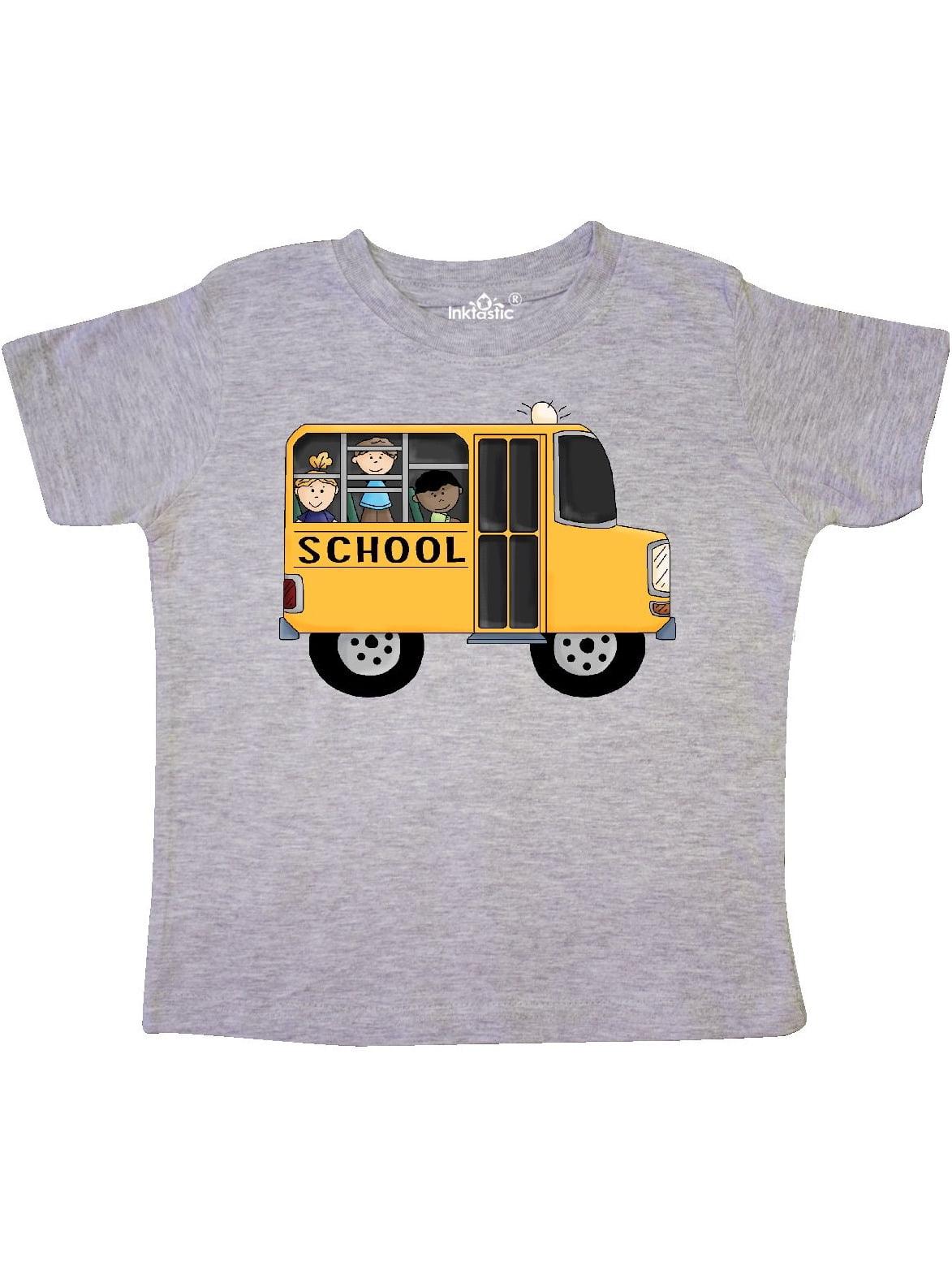 School Bus Toddler T-Shirt