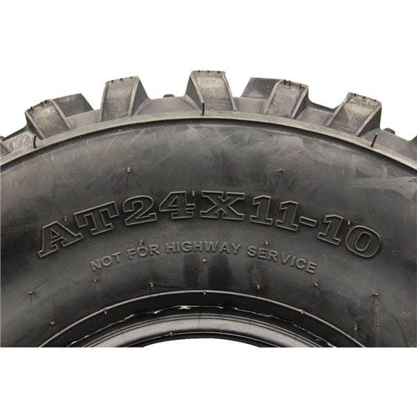 Full Set ATV Tires 24x9-10 /& 24x11-10 for 2017 Kawasaki Mule SX