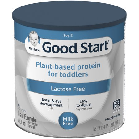 Gerber Good Start Soy Non-GMO Powder Infant and Toddler Formula, Stage 2, 24