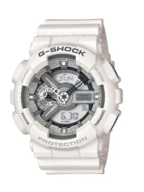 Product Image Casio Men's 'G SHOCK' Quartz Resin Casual Watch, Color:White (Model