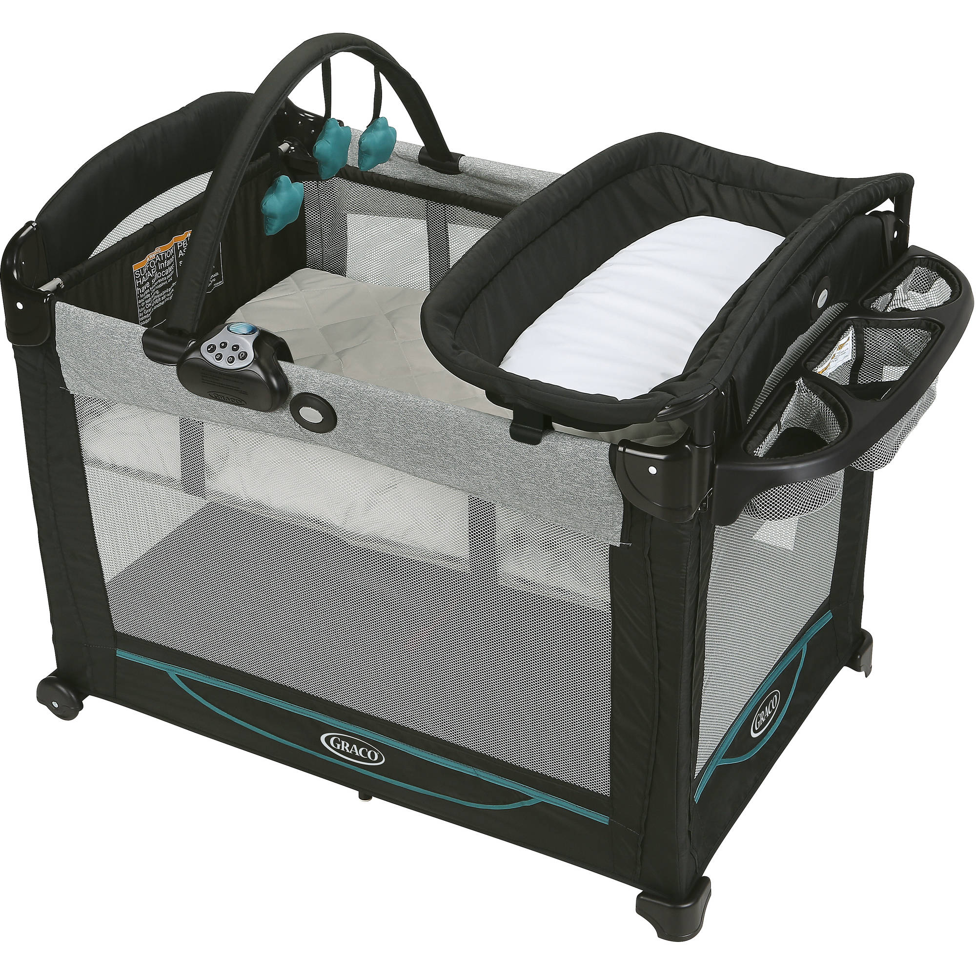 Graco Pack 'n Play Element Play Pen with Bassinet, Darcie by Graco