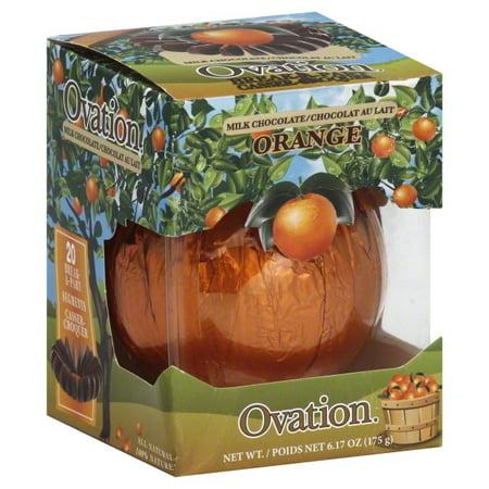 Ovation Break-A-Part Creme d'Orange Filled Milk Chocolate, 6.17 Oz. ()