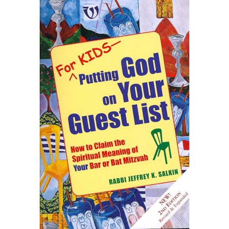 Bat Mitzvah Giveaway Ideas (Putting God on Your Guest List: How to Claim the Spiritual Meaning of Your Bar or Bat)