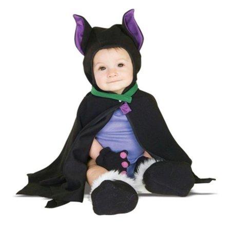Lil Bat Caped Costume 3-12 Mos
